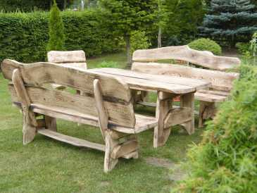 Photo: Sells Garden chair HOLZ - HOLZ