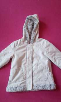 Photo: Sells Clothing Children - PALOMINO - GIRLS JACKET WITH SOFT FUR TRIMUK AND US SIZE 7-8
