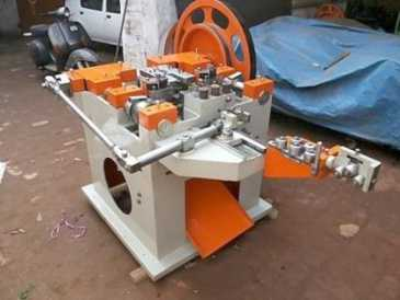Photo: Proposes  WIRE NAILS MAKING MACHINE - INDIA