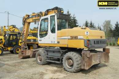 Photo: Sells Machine LIEBHERR - A316