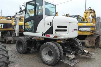 Photo: Sells Machine TEREX - TW85