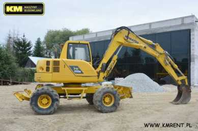 Photo: Sells Machine KOMATSU - PW 110