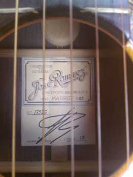 Photo: Sells Guitar RAMIREZ - RAMIREZ III CONCEPTION JERONIMA N5