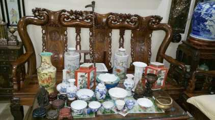 Photo: Sells Porcelain CHINESISCHES PORZELLAN - Vase