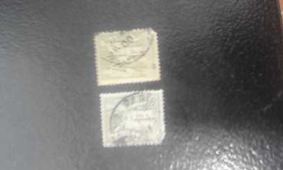 Photo: Sells 8 Services stamps 1FRANCO FRANSES DFIFERENTES  TONOS MISMO VALOR - Monuments and architecture