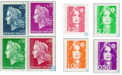 Photo: Sells 620 Useds (canceled)s stamps Historical characters