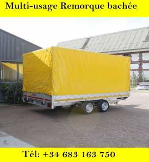 Photo: Sells Caravan and trailer EDUARD - 2700KG