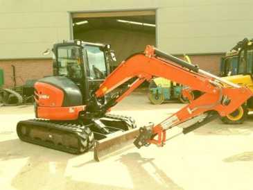 Photo: Sells Truck and utility KUBOTA - U48-4