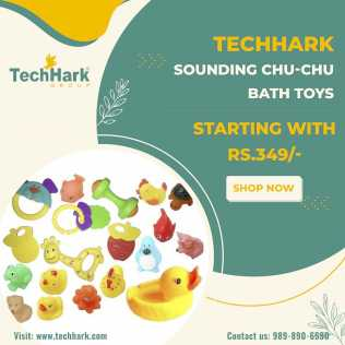 Photo: Sells Toy and model TECHHARK - SOUNDING CHU-CHU BATH TOYS