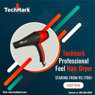 Photo: Sells Electric household appliance TECHHARK - HAIR DRYER