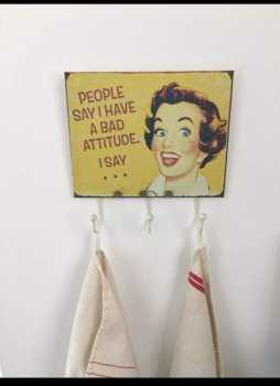 Photo: Sells Decorative object DECORATIVE TEA TOWEL HANGER