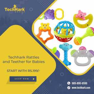 Photo: Sells Model TECHHARK - RATTLES AND TEETHER FOR BABIES
