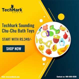 Photo: Sells Model TECHHARK - SOUNDING CHU-CHU BATH TOYS