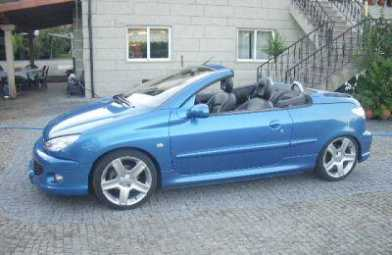 see an ad sells convertible peugeot 206 cc. Black Bedroom Furniture Sets. Home Design Ideas