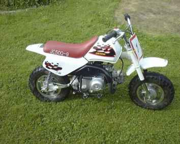 Photo: Sells Motor bike JINCHENG - 50 CM3 ENDURO-CROSS
