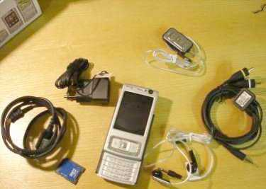 Photo: Sells Cell phones NOKIA - N95