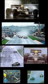 Photo: Sells DVD Sports - Motorized sports - SENNA- GRAND PRIX F1 DU PORTUGAL 1985 A ESTORIL