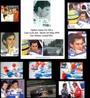 Photo: Sells DVD Sports - Motorized sports - SENNA - GRAND PRIX F1 DE SAN MARINO 1994 IMOLA