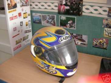 Photo: Sells Motor bike LASER INTEGRAL - CASQUE LAZER COROLLA