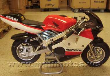 see an ad sells motorbike 50 cc honda replica minimoto. Black Bedroom Furniture Sets. Home Design Ideas